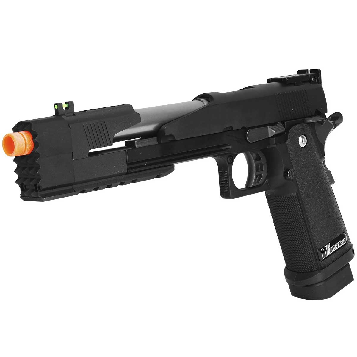 Pistola Airsoft GBB WE 1911 Black Dragon 7.0 A Full Metal 6mm