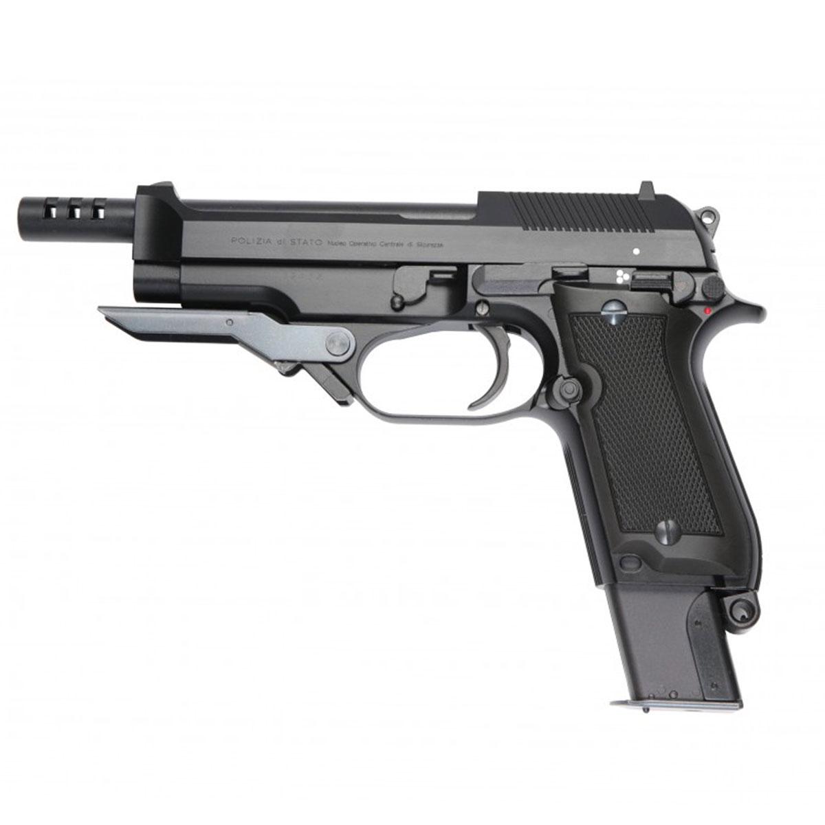 Pistola de Airsoft KWA M93R II Green Gás
