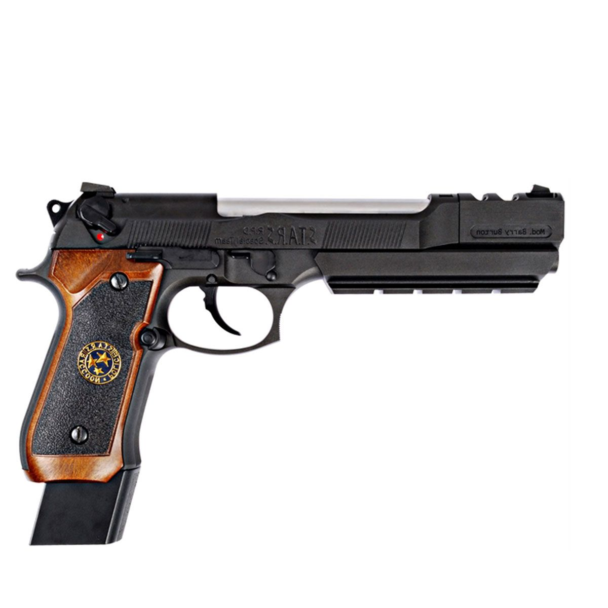 Pistola Airsoft M92 Biohazard Barry Burton Full Metal GBB - WE