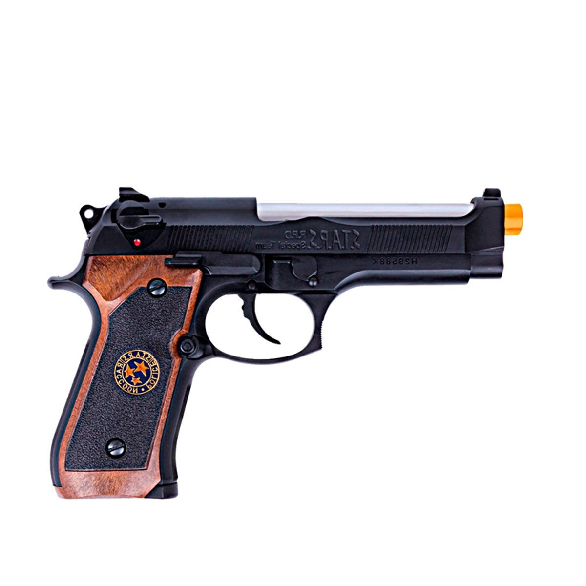Pistola Airsoft M92 Biohazard Full Metal GBB - WE