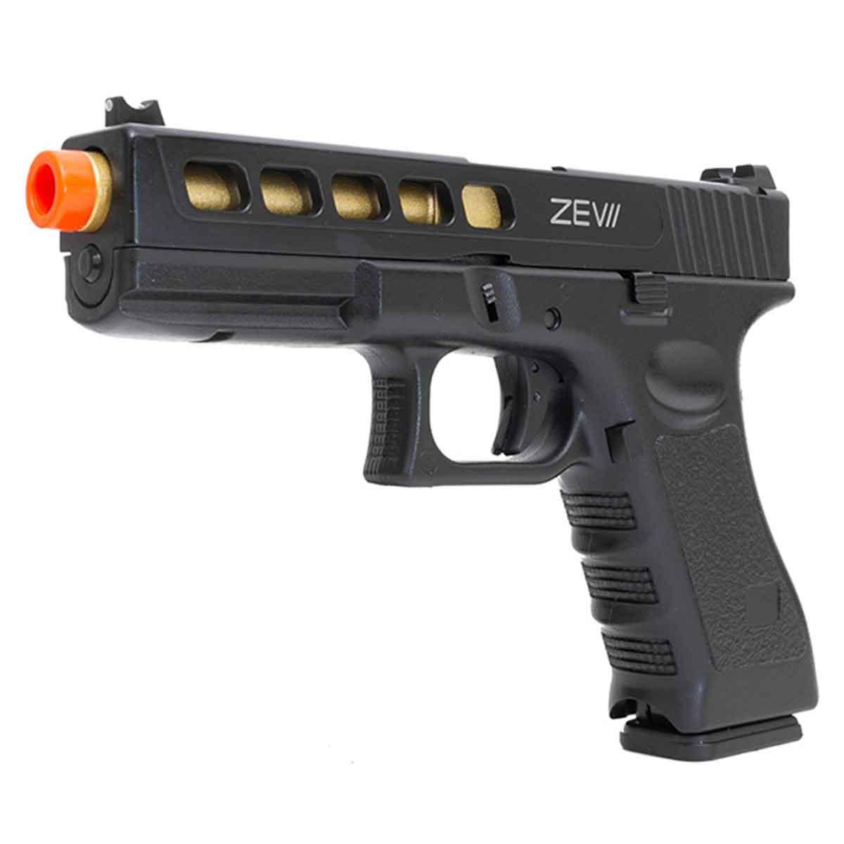 Pistola de Airsoft Double Bell GBB G17 DB 741-3 + Case Rígida