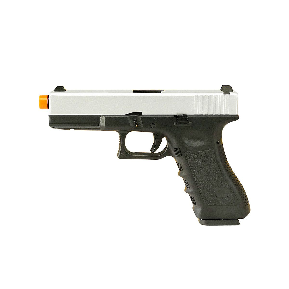Pistola de Airsoft Army Armament R17 Silver Blowback GBB 6mm