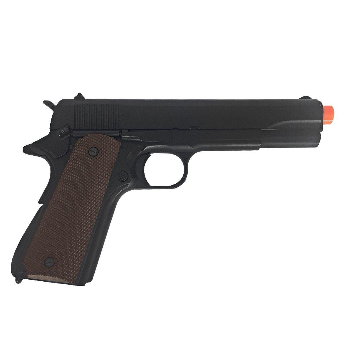 Pistola de Airsoft Army Armament M1911 A1 R31 Full Metal GBB