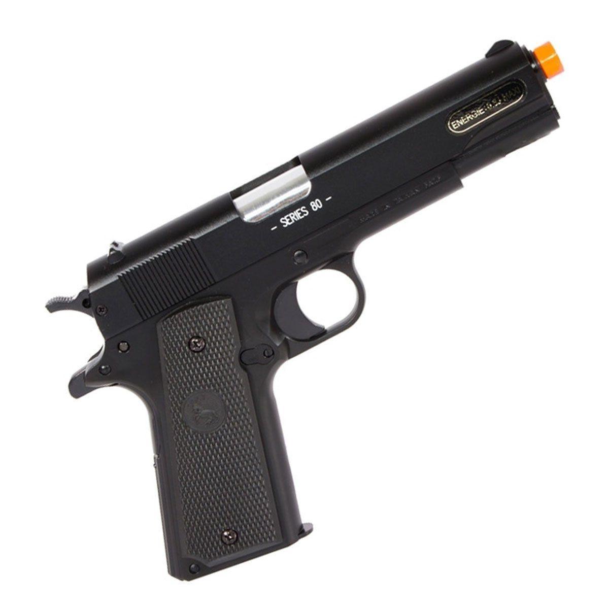Pistola de airsoft Colt 1911- Slide metal cal 6mm