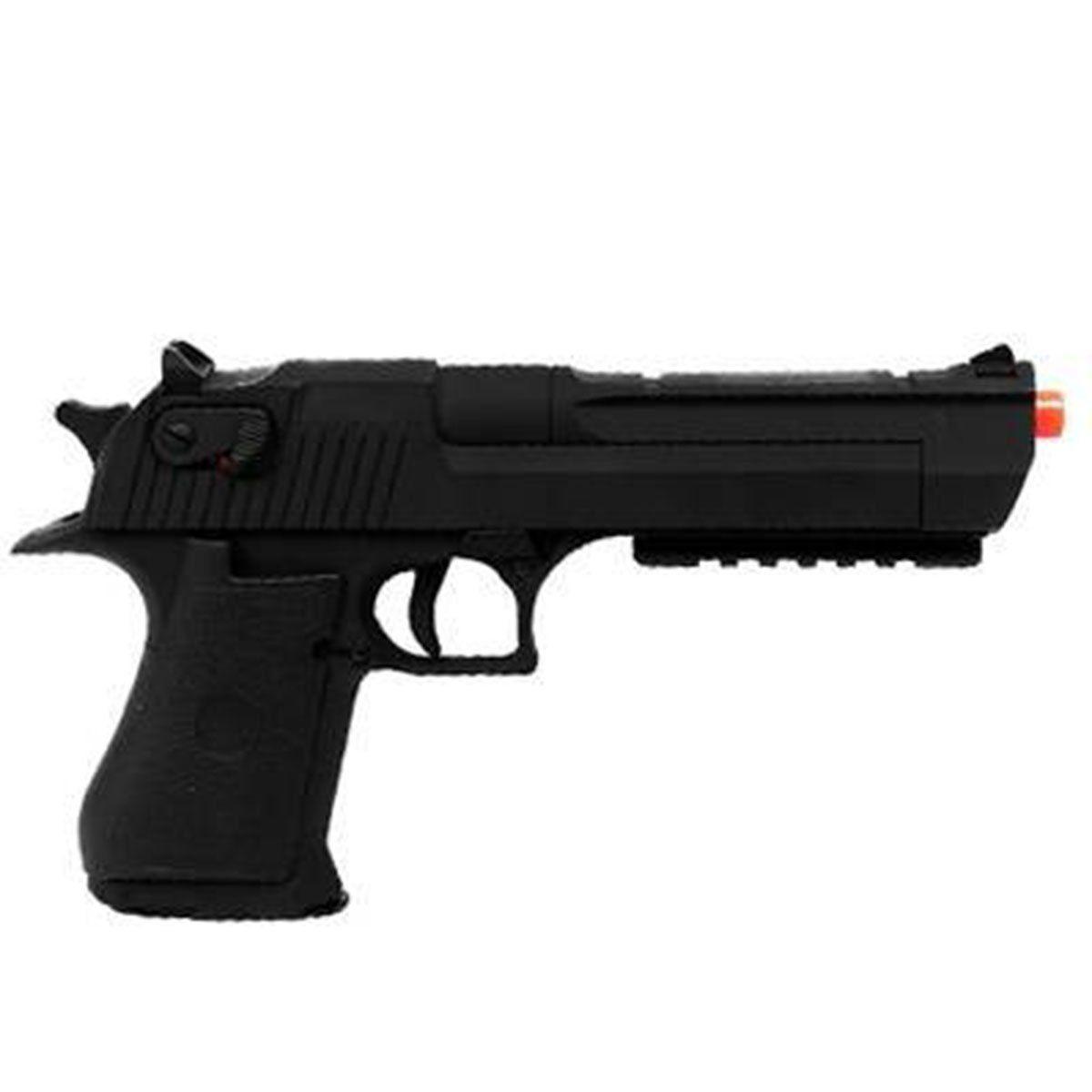 Pistola Airsoft Cyma Desert Eagler CM121 metal Elétrica bivolt 6 mm