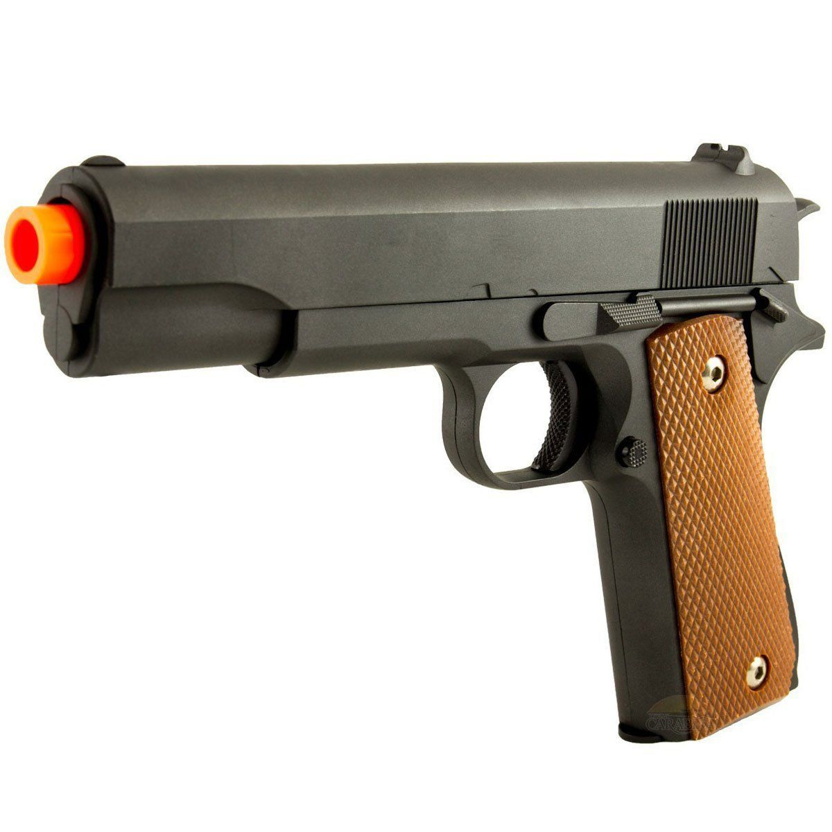Pistola de Airsoft Galaxy G13 Colt 1911 Full Metal Spring 6mm