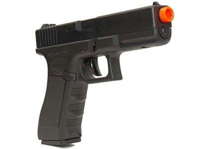 Pistola de Airsoft Glock G18 CM 030 Elet Plast BB 6MM
