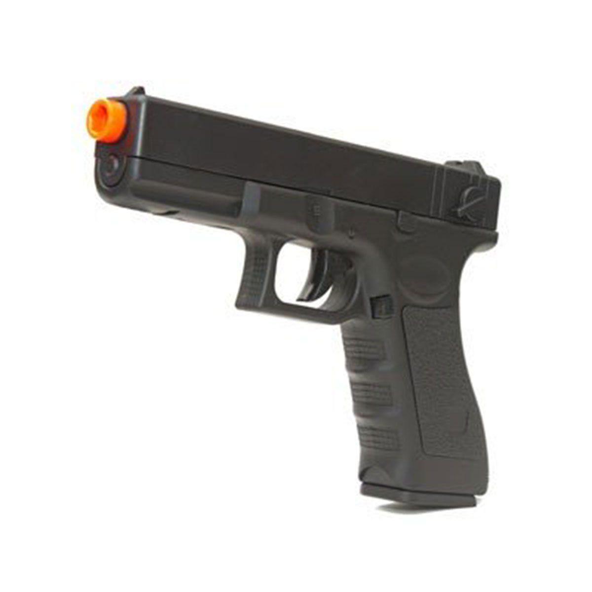 Pistola de Airsoft Cyma CM 030 Glock G18 Elétrica Bivolt 6mm