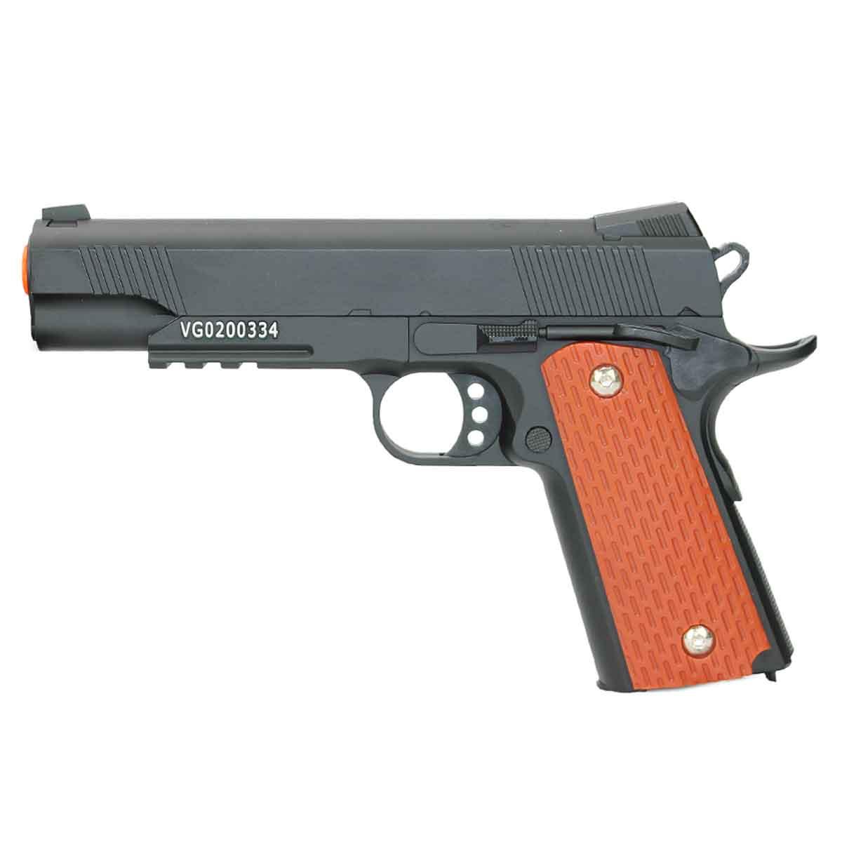 Pistola de Airsoft KWC 1911-V13 Spring Calibre 6mm