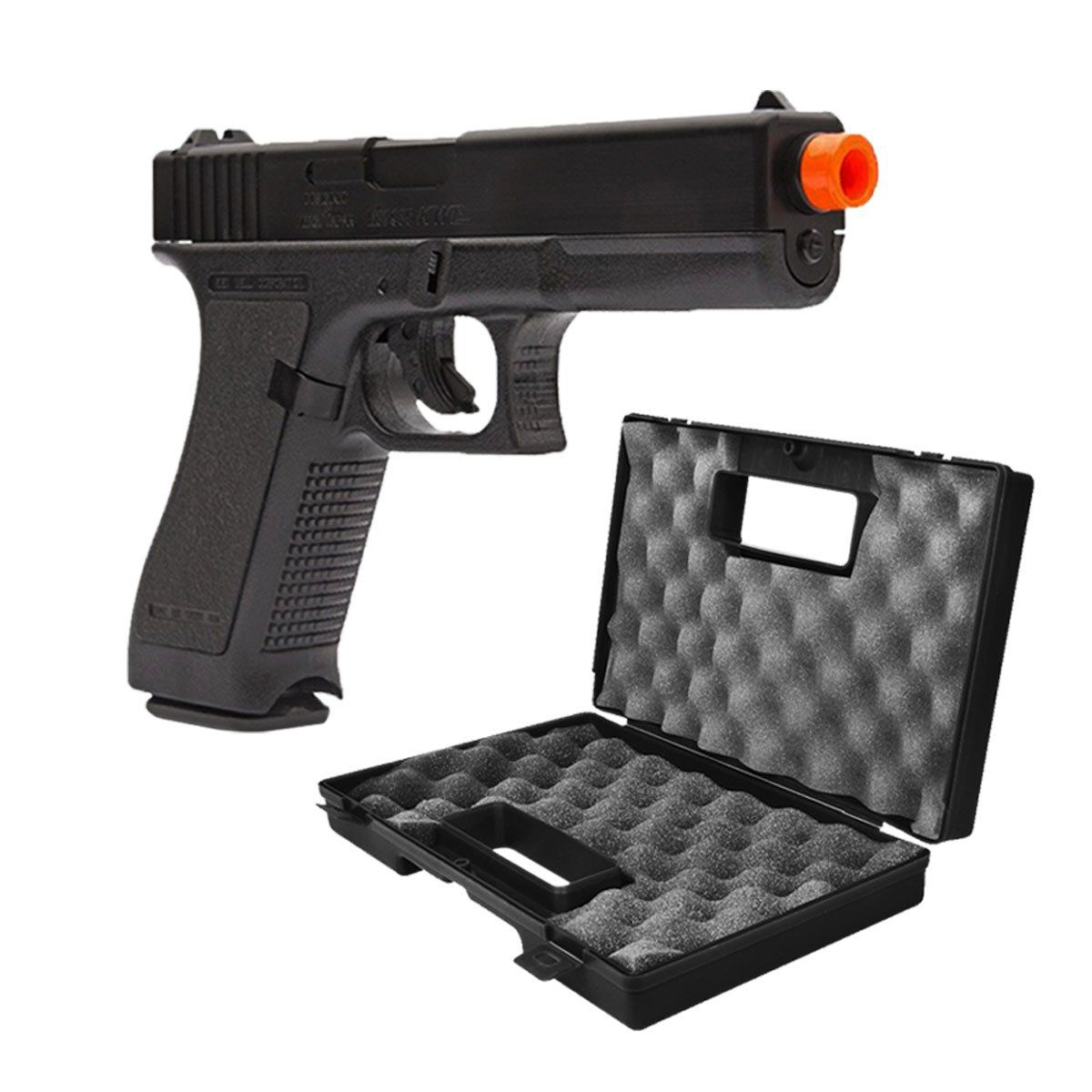 Pistola de Airsoft KWC Glock G7 Spring 6mm + Maleta