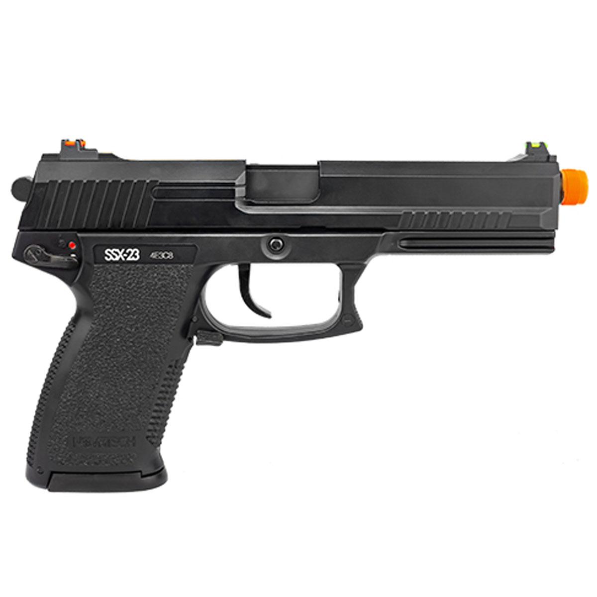 Pistola de Airsoft Novritsch SSX23 Green Gás