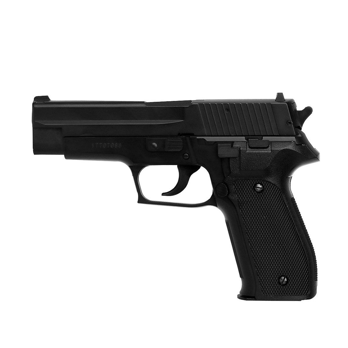Pistola de Pressão KWC P226 Metal Spring 4,5mm com Maleta