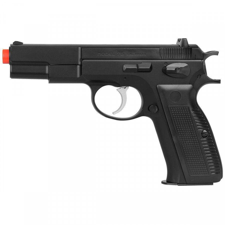Pistola de Airsoft UHC UA-957BH CZ 75 Spring 6mm