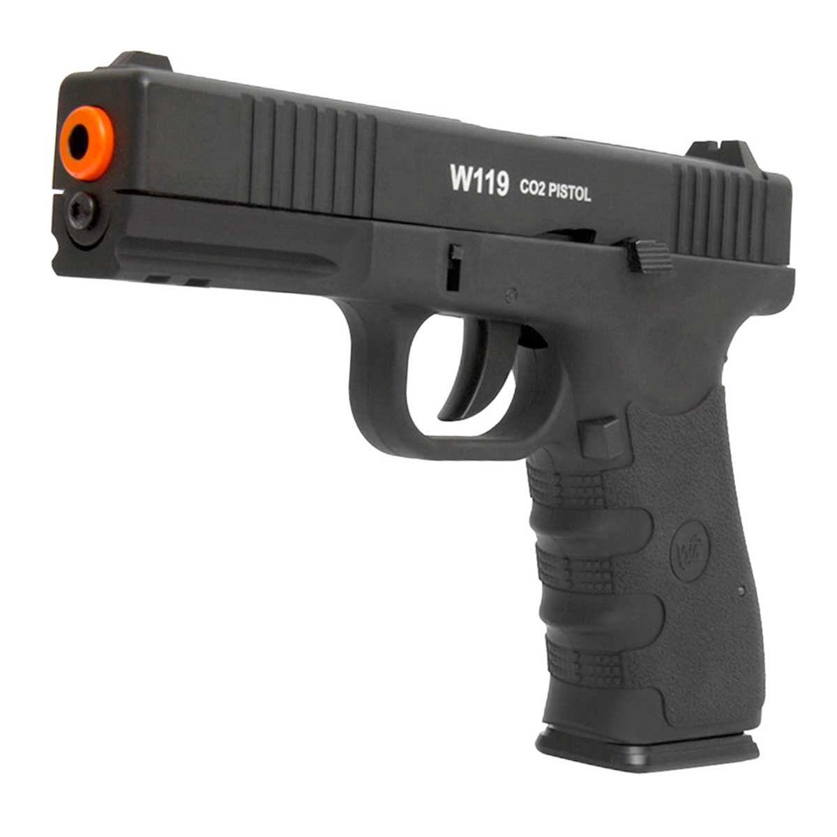 Pistola de Airsoft Wingun W119 Special Force CO2 6mm