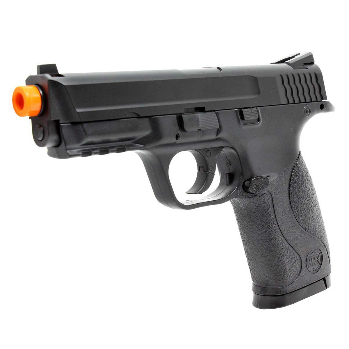 Pistola de Airsoft KWC GNB MP40 Slide Metal CO2 6mm