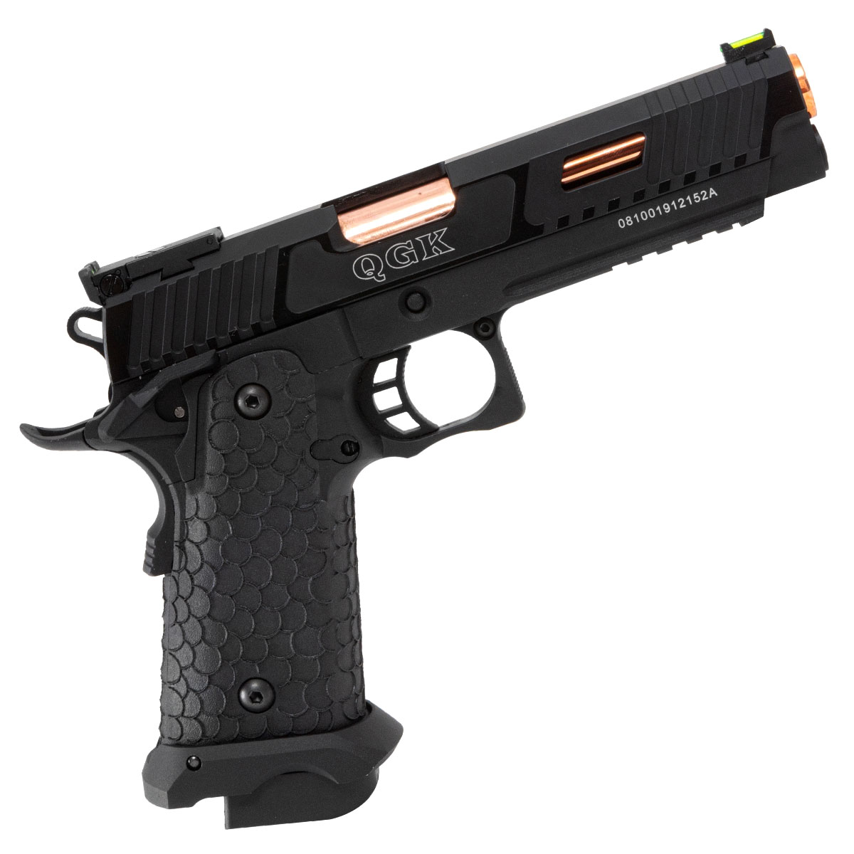 Pistola de Pressão BABAYAGA HP 5.1 QGK Full Metal 4.5mm