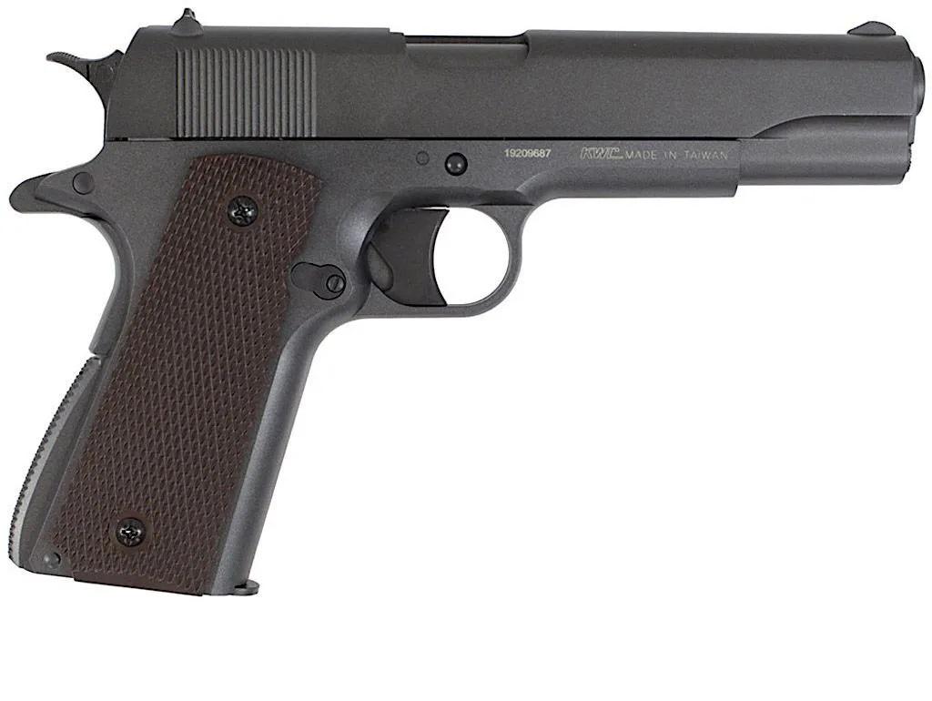 Pistola de Pressão CO2 KWC 1911 Slide De Metal - 4,5mm