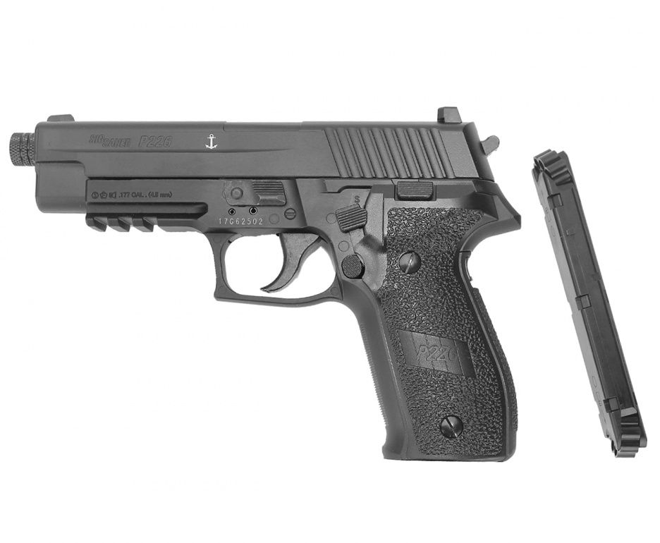 Pistola de pressao P226 SIG SAUER CO2 4,5MM