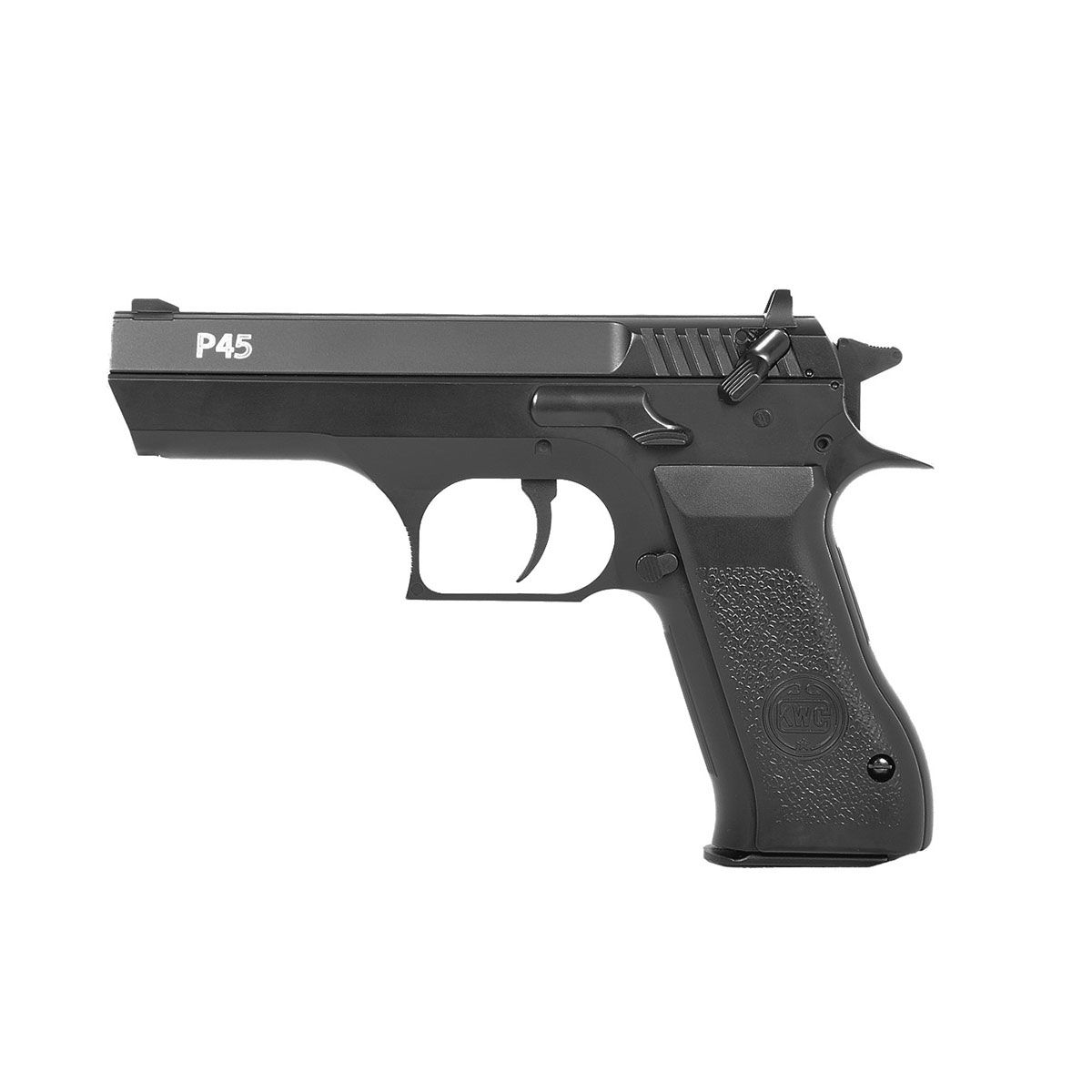 Pistola de Pressão Airsoft PCP KWC P45 Calibre 4,5mm Full Metal
