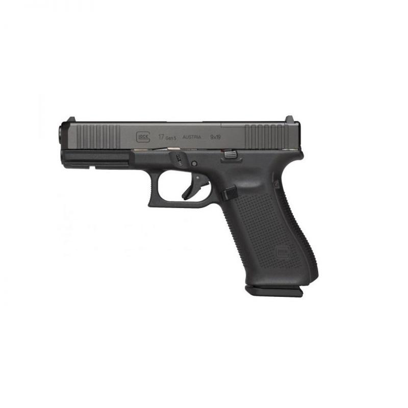 Pistola Glock G17 Gen5 FS 9 mm + Acessórios