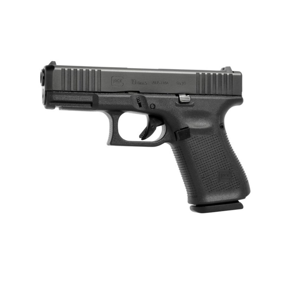 Pistola Glock G19 Gen5 FS 9 mm  Semi Automática + Acessórios