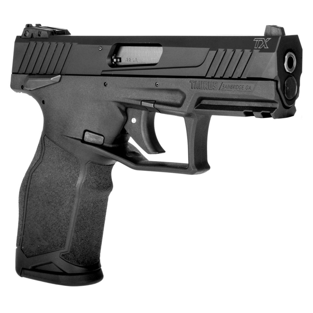 Pistola Taurus Modelo TX22, Calibre 22LR, 16+1, 104mm (4,1 Pol) Carbono Fosco