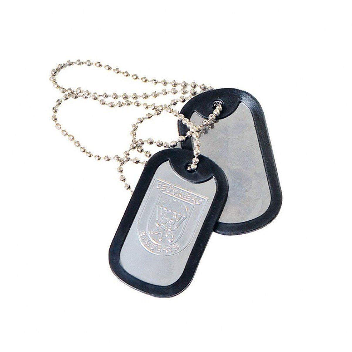 Dog Tag Placa de Identificação Op Especiais Elite Comandos
