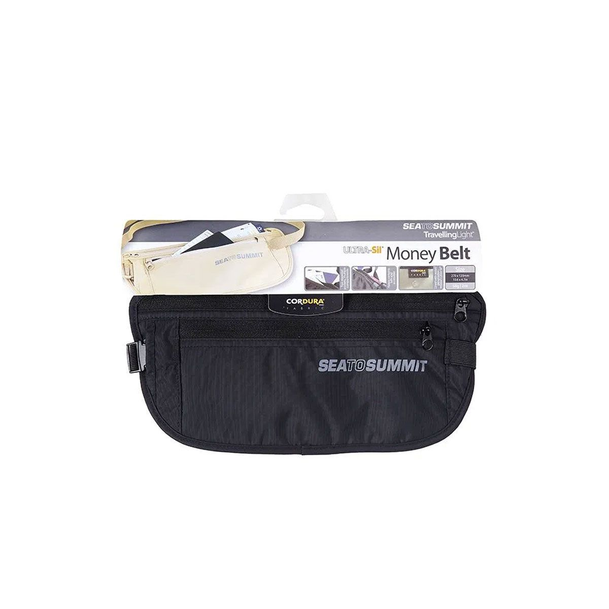 POCHETE MONEY BELT PRETO NAUTIKA