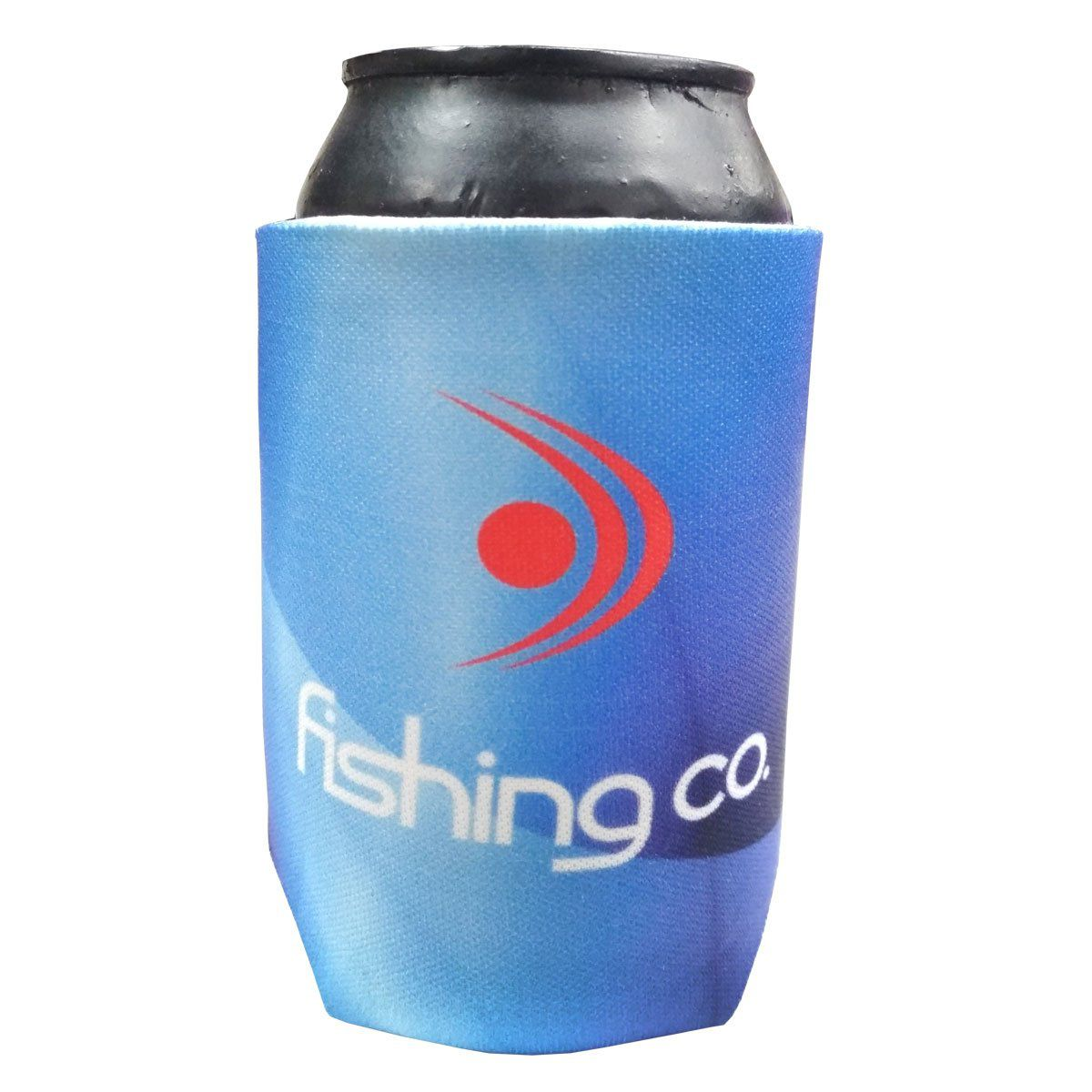 Porta Lata Fishing Co Azul Degrade