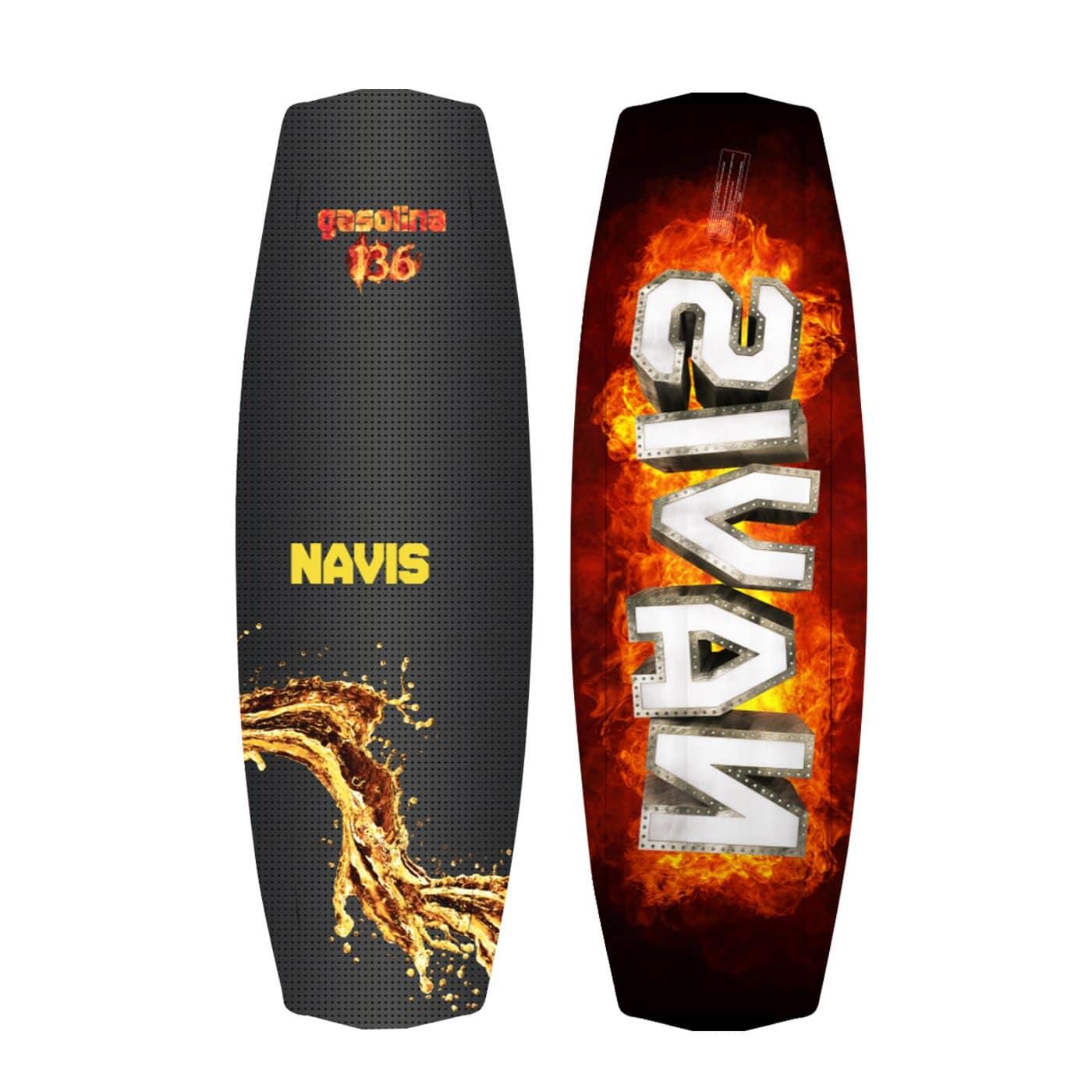Prancha de Wakeboard Navis - Gasolina 142cm