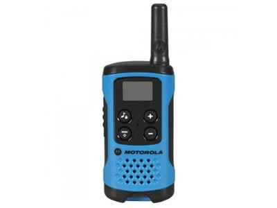 Radio Talkabout Motorola T100br 25km Azul (Unitario)