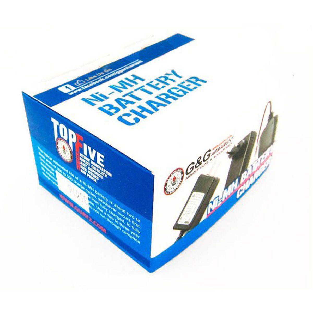 Recarregador de Baterias NiMh Bivolt GG C/ LED