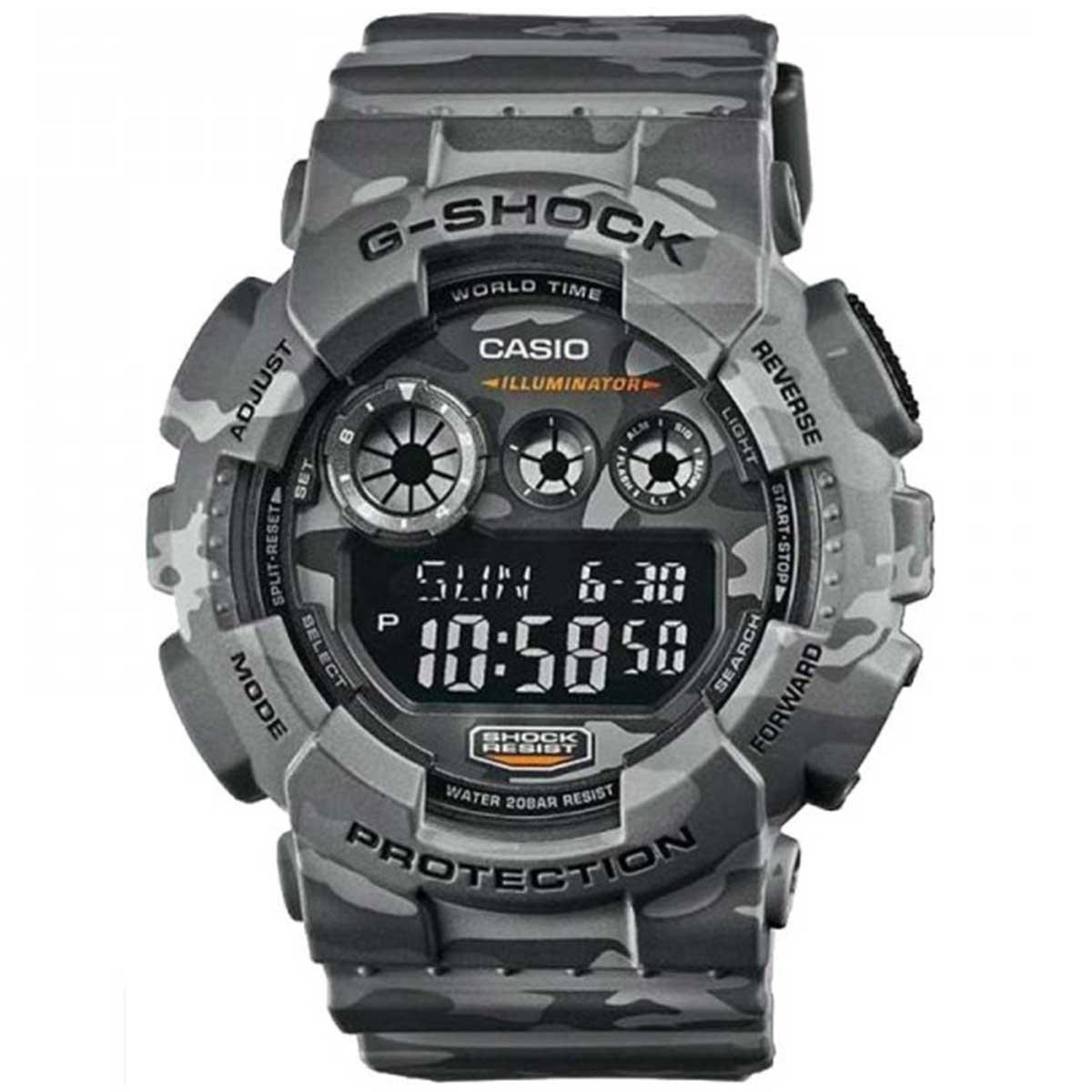 Relógio de Pulso Casio G-Shock Camuflado GD-120CM-8DR