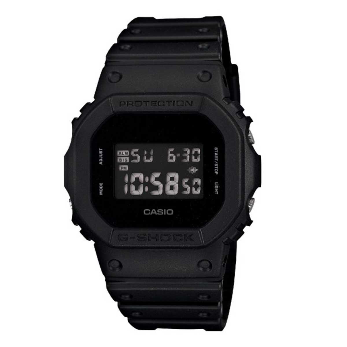 Relógio de Pulso Casio G-Shock Digital Modelo DW-5600BB-1DR