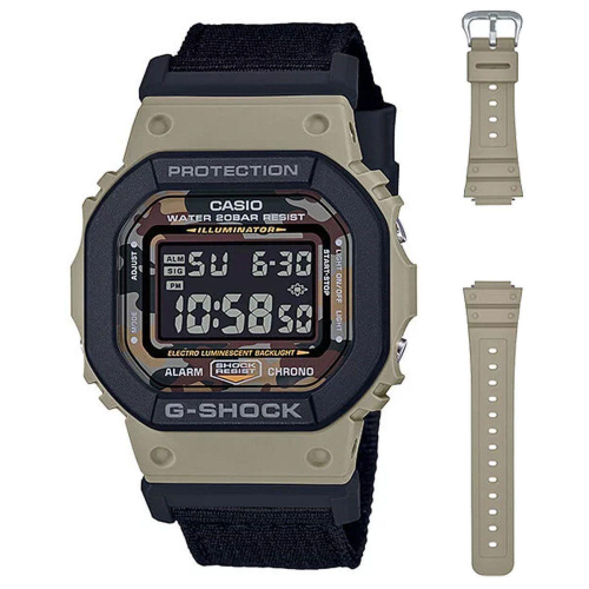 Relógio de Pulso Casio G-Shock Digital Modelo DW-5610SUS-5DR