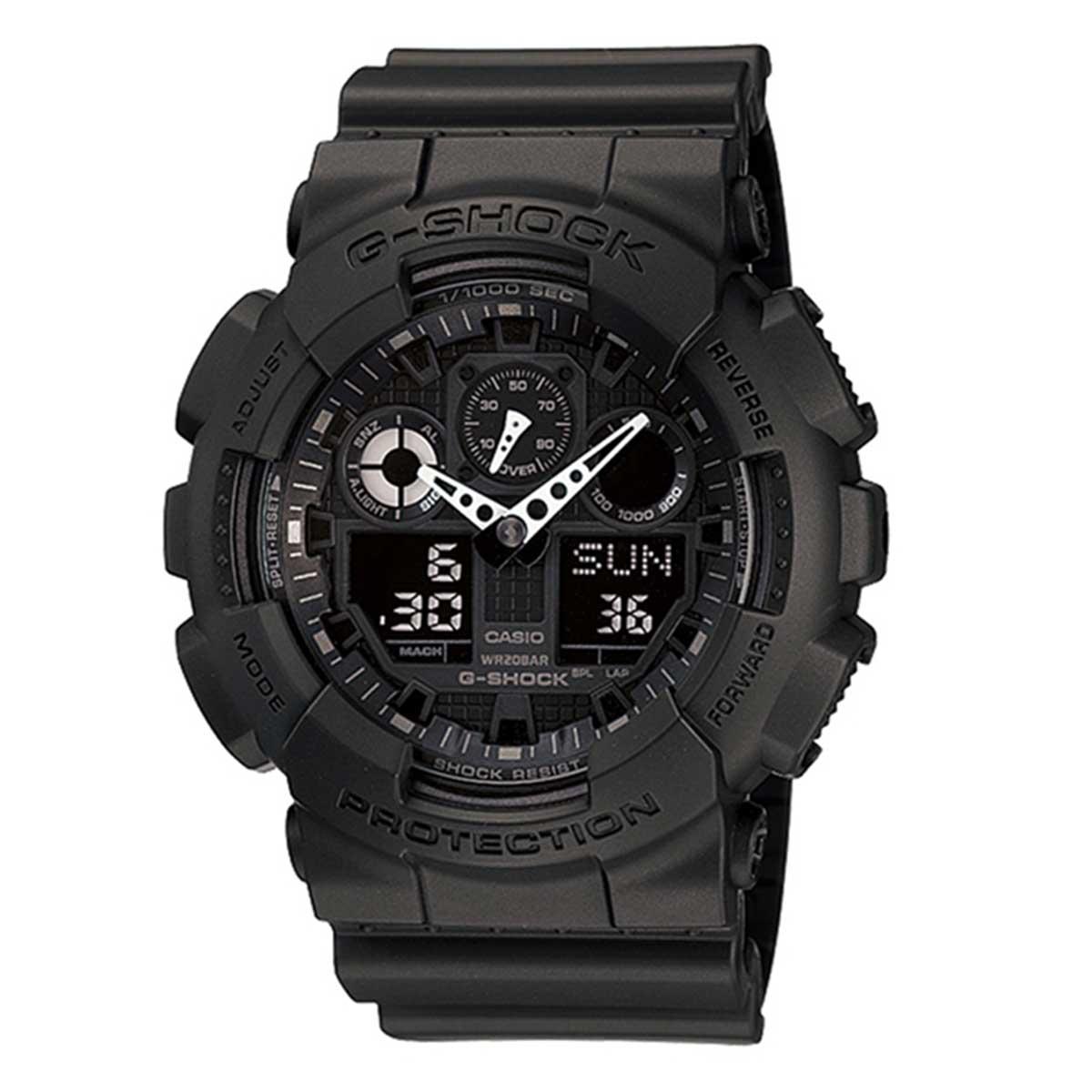 Relógio de Pulso Masculino Casio G-Shock GA-100-1A1DR - Preto