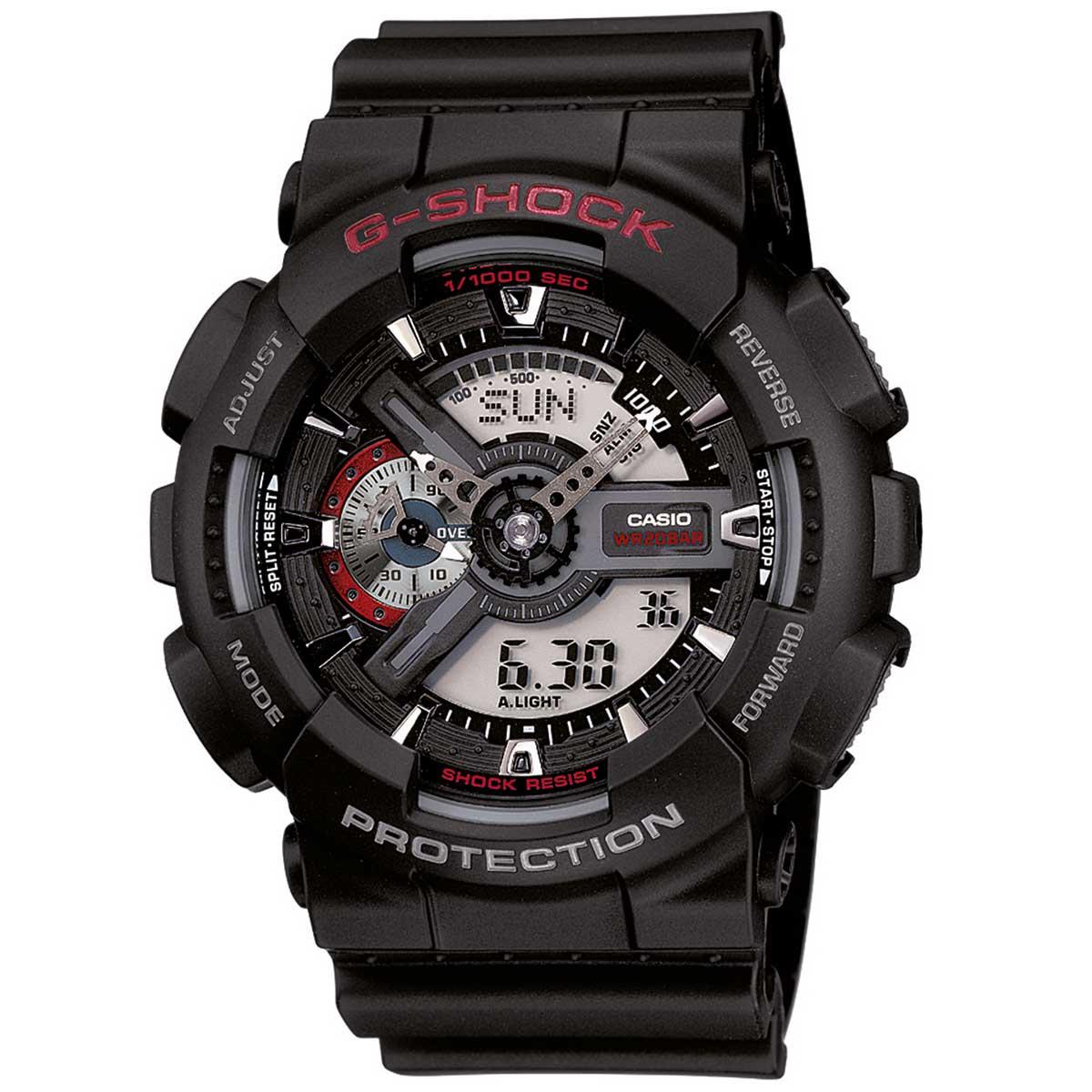 Relógio de Pulso Masculino Casio G-Shock GA-110-1ADR - Preto