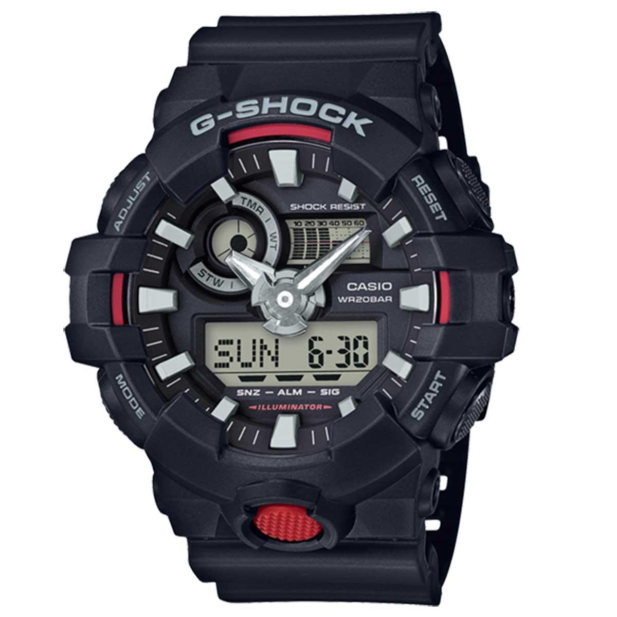 Relógio de Pulso Masculino Casio G-Shock GA-700-1ADR - Preto
