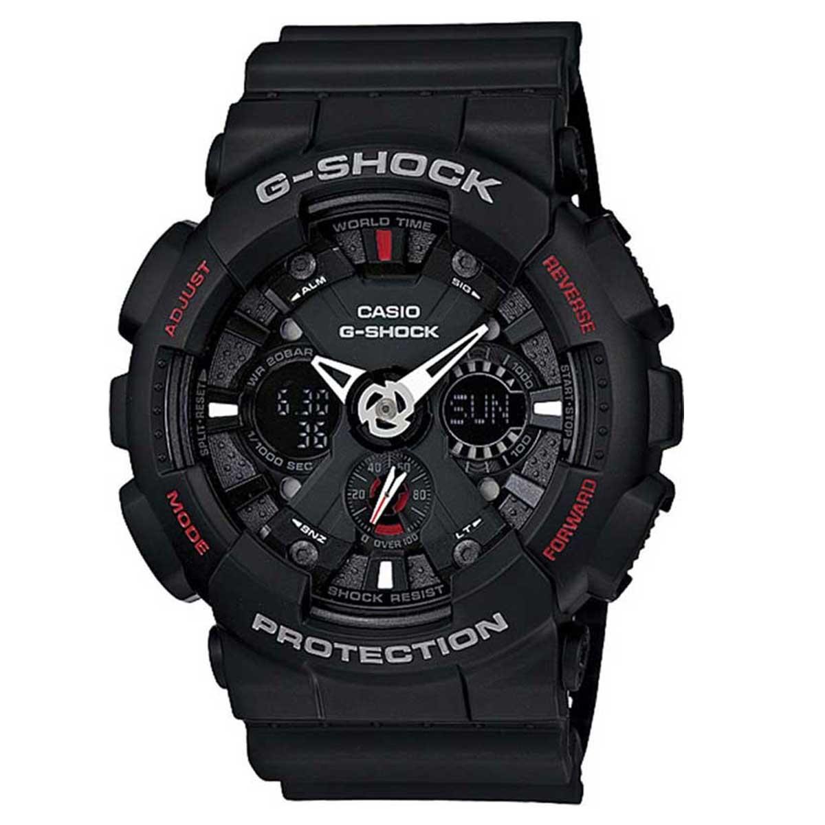 Relógio de Pulso Casio Masculino G-Shock GA-120-1ADR - Preto