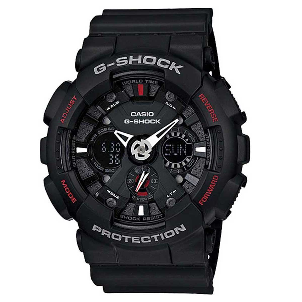 Relógio de Pulso Casio Masculino G-ShocK Modelo GA-120-1ADR