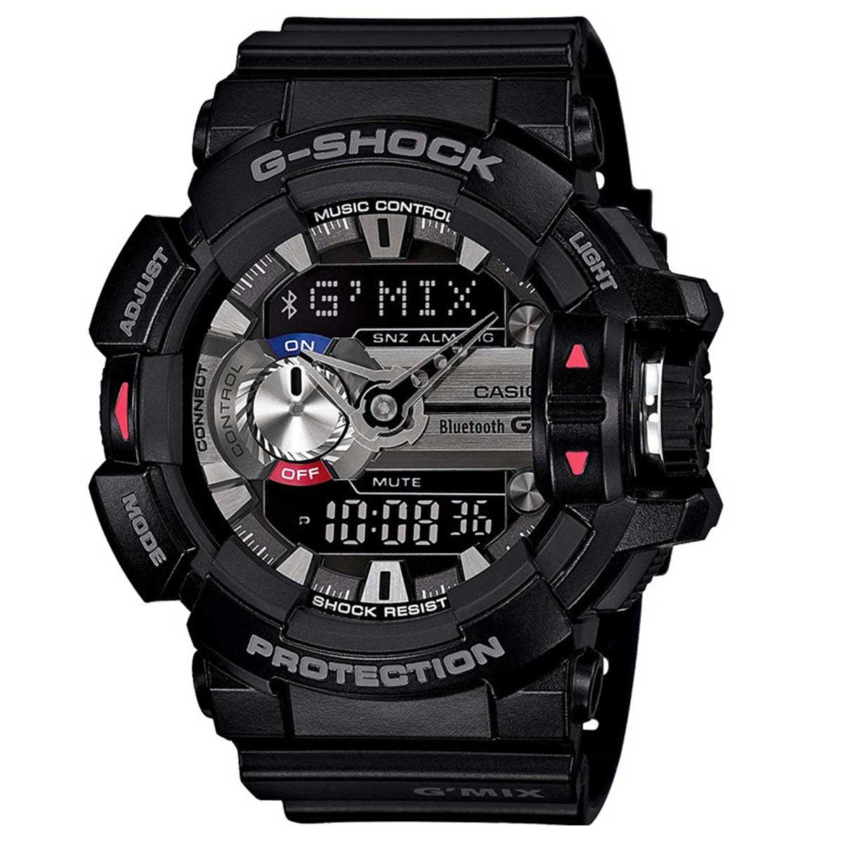 Relógio de Pulso Casio Masculino G-ShocK Preto GBA-400-1ADR