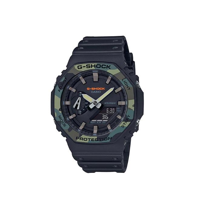 Relógio de Pulso Masculino Casio G-Shock GA-2100SU-1ADR - Preto