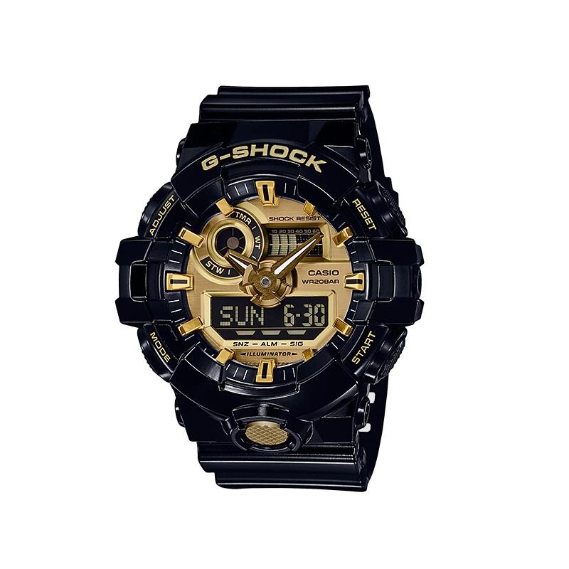 Relógio de Pulso Masculino Casio G-Shock GA-710-1ADR - Preto