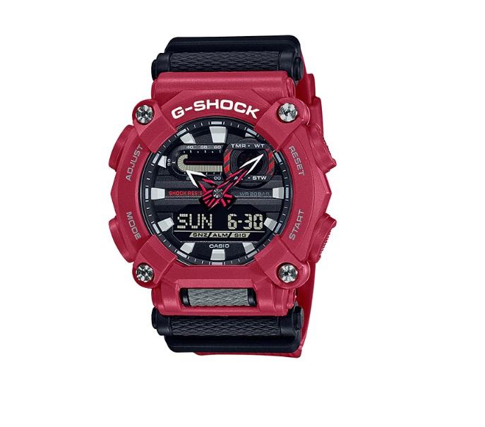Relógio de Pulso Masculino Casio G-ShocK GA-900-4ADR - Vermelho