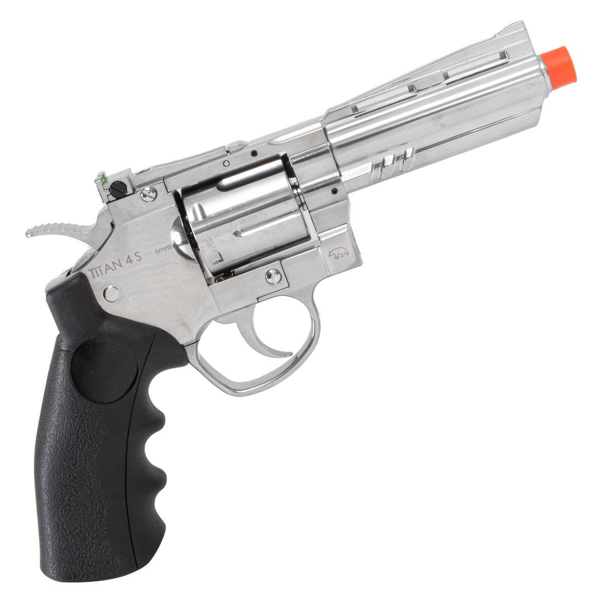 Revolver de Airsoft Titan 4 S QGK a Gás Co2