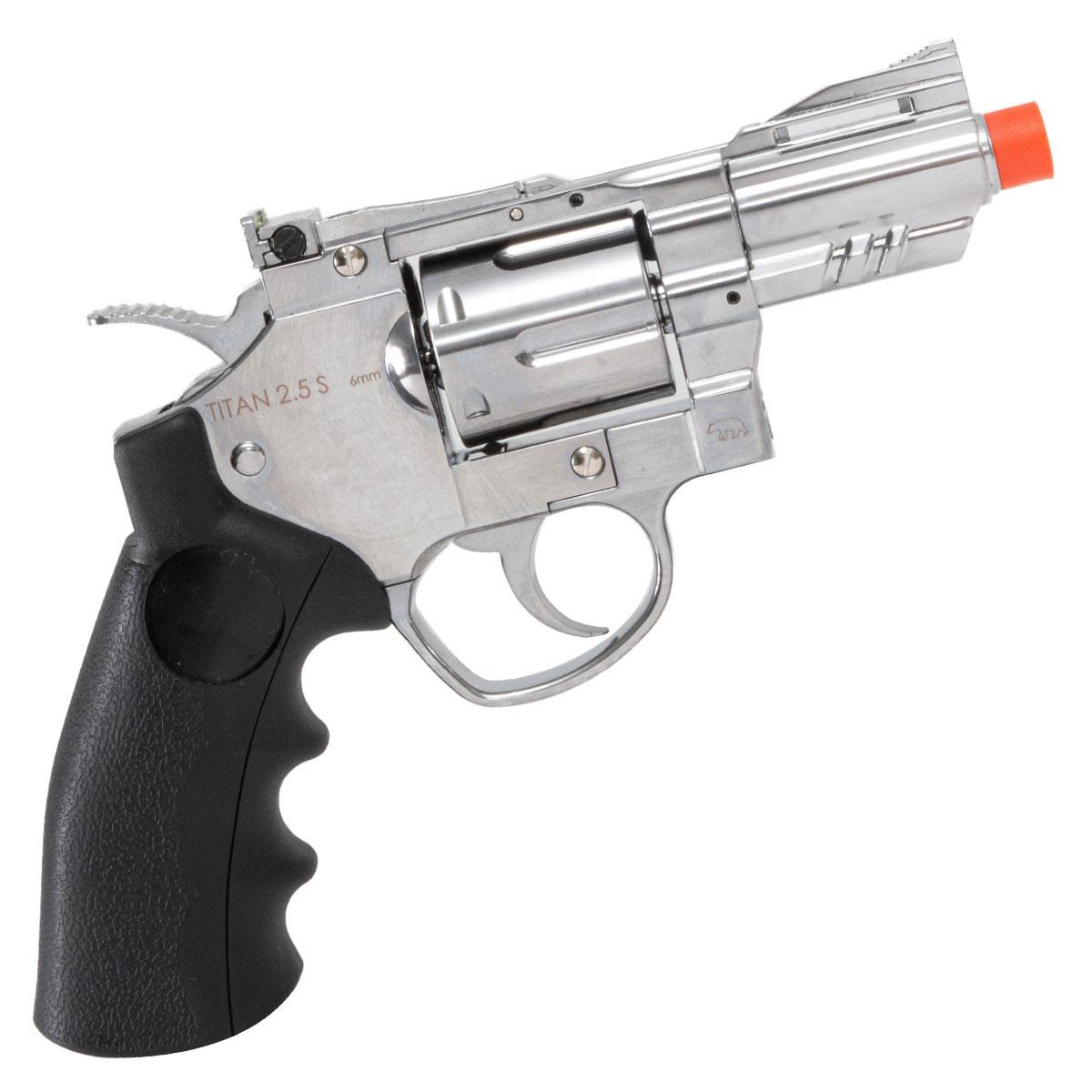 Revolver de Airsoft Titan 2.5 S QGK a Gás Co2