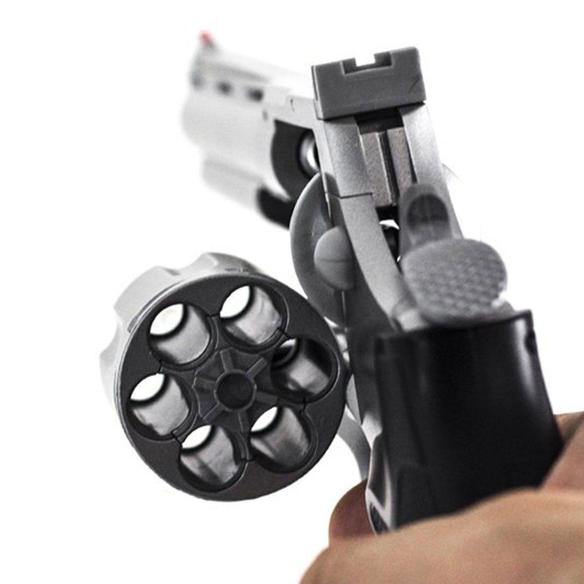 Revólver de Airsoft UHC Python UA938S Spring 6mm