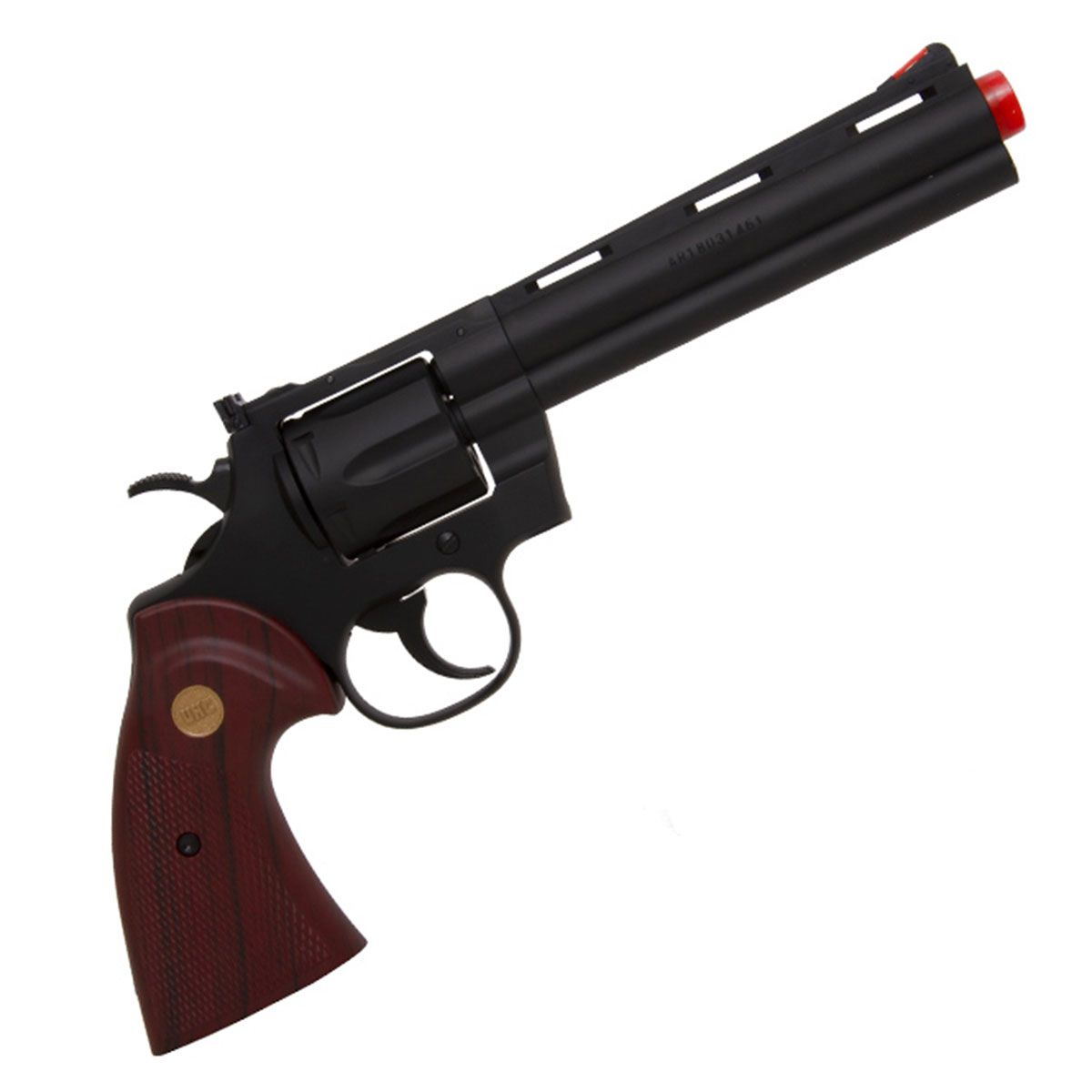 Revolver de Airsoft UHC UG-139B Green Gás 6mm