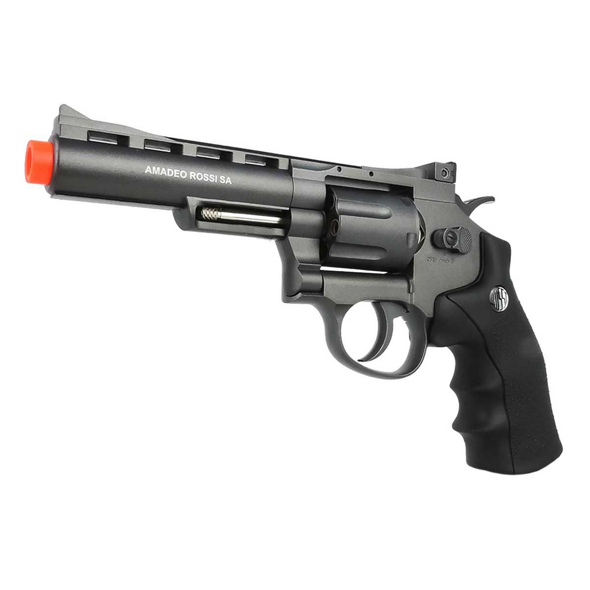 Revólver de Airsoft Rossi Wingun 38 WG M701 Metal CO2 6mm