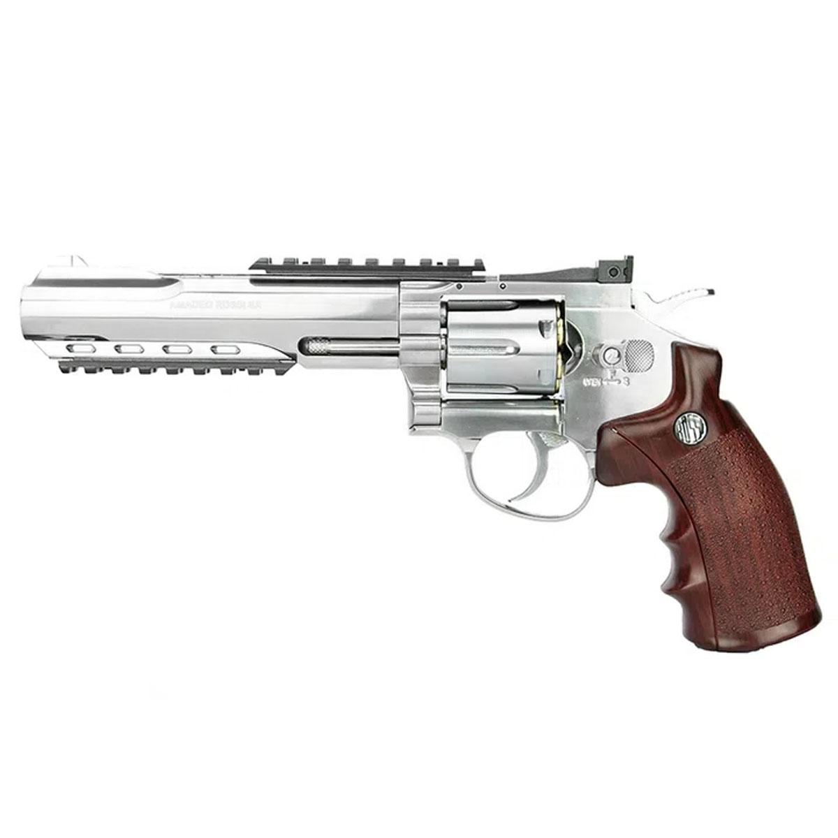 Revolver de Pressão Wingun Rossi W702S a gás Co2 4.5mm
